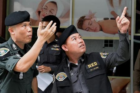 Thai cops in lather over Bangkok 'soapy massage' brothel water theft