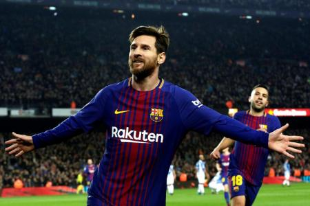 Barca on course for treble, says Messi