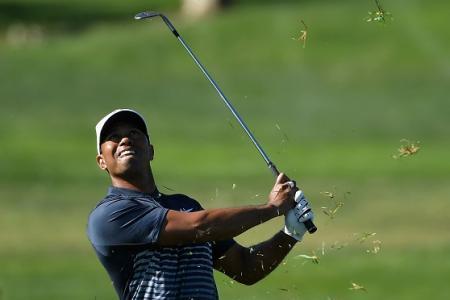 Tiger birdies final hole to make cut in US PGA Tour return