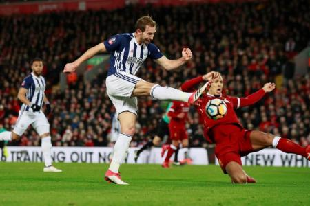 Liverpool knocked out of FA Cup by West Brom