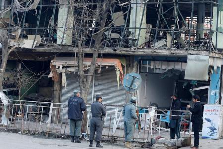 Anger grows in Kabul after ambulance bomb carnage