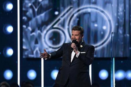 Trump's son, UN envoy in backlash over Grammy skit