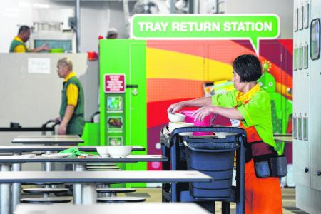 Tray return system at hawker centres a work in progress
