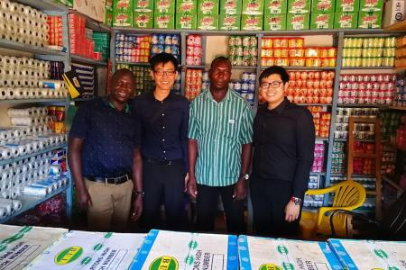SMU student finds common ground with Ugandans