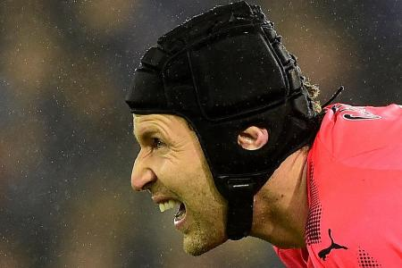 Cech admits he's to blame for Arsenal's loss to Swansea