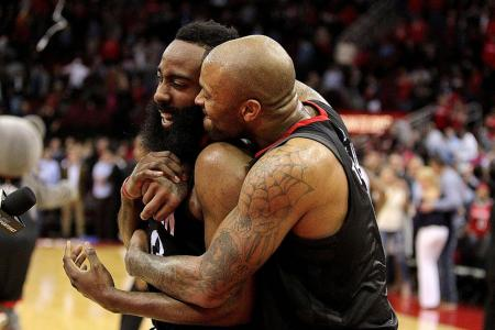 Rockets star Harden sets NBA mark