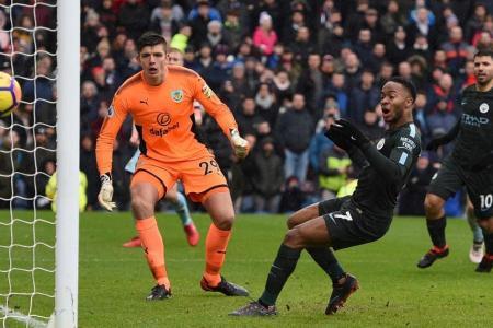 Burnley hold Man City at Turf Moor