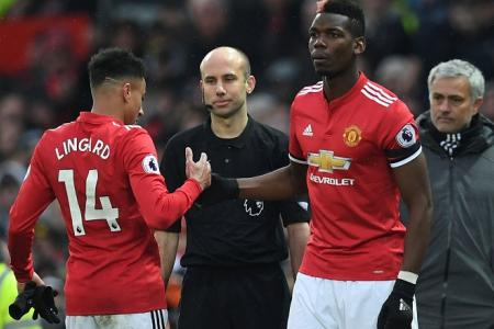 Mourinho offers few clues for dropping Pogba from first XI
