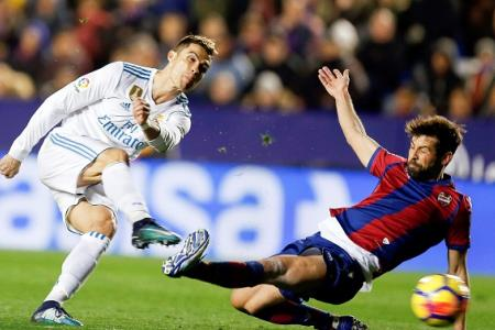 Real Madrid held by struggling Levante