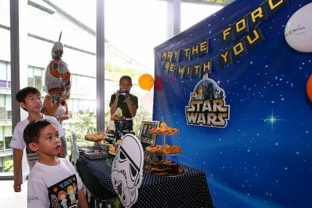 Stormtroopers, Lucasfilm HQ visit give leukaemia-stricken boy new hope