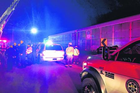 Train crash in South Carolina kills two, injures 70