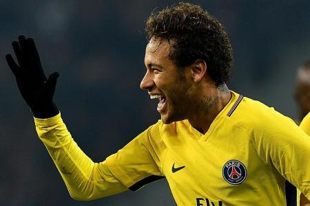 Neymar nets free-kick as PSG begin vital month in style