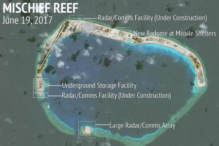 China's facilities nearly ready on 7 islands in S. China Sea: Report