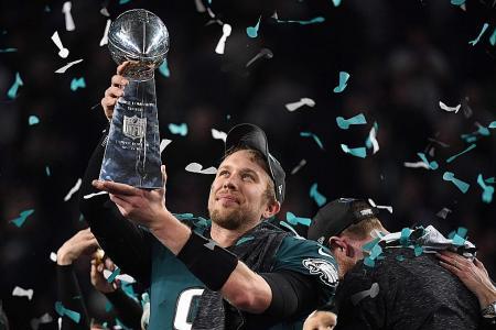 Super Bowl hero Foles could go back to zero