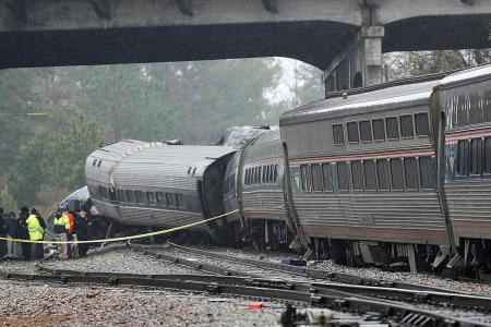 Deadly crash: US train was on wrong track