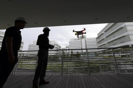 One-north to be designated as Singapore's first drone estate