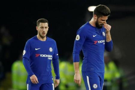 Chelsea crash again, but Conte insists he won't lose sleep