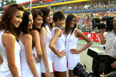 No grid girls, it's grid kids for F1