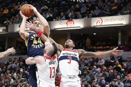 Wizards down Pacers for fifth straight win
