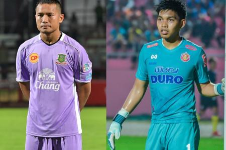 Singapore goalkeepers' derby in Thailand ends in 1-1 draw