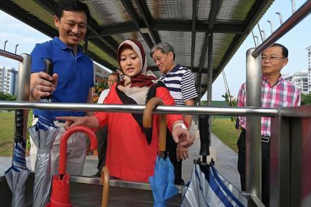 Umbrella-sharing scheme launched in Bukit Batok