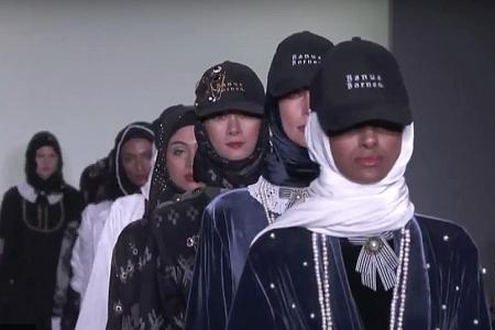 Abayas only: New York show spotlights rise of modest fashion