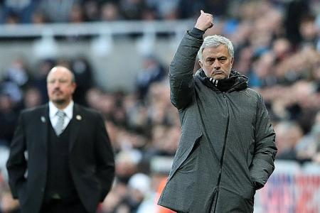 Pressure mounts on Man United boss Mourinho after Newcastle defeat