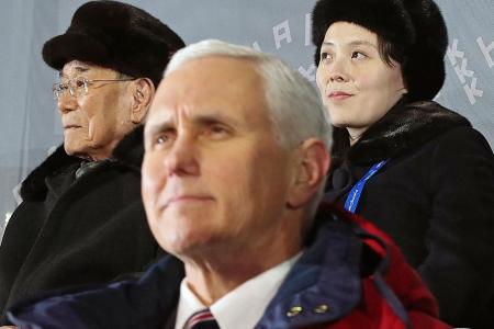 US Vice-President Pence suggests Washington ready to talk to N. Korea