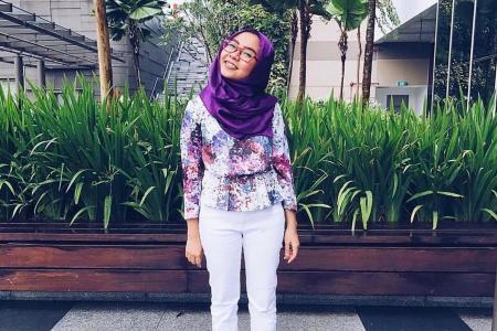 Making a fashion statement at Singapore edition of World Hijab Day