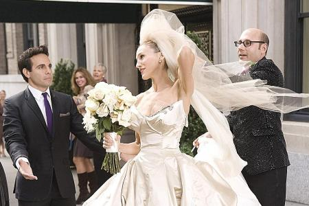 Fifty Shades Freed dress joins list of best movie wedding gowns