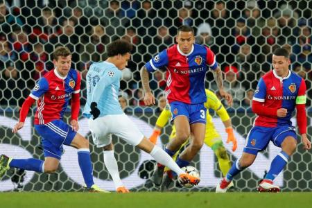 Basel bashed as Man City win 4-0