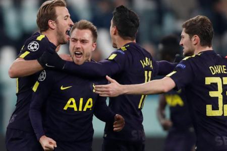 Kane, Eriksen help Spurs draw with Juventus