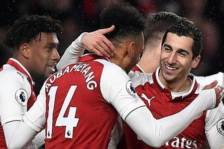 Mkhitaryan delighted to be reunited with Aubameyang at Arsenal