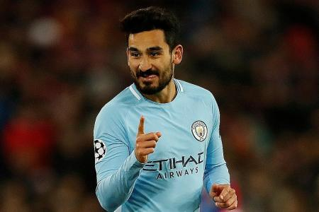 Guendogan steals the show as Man City rout Basel in Champions League