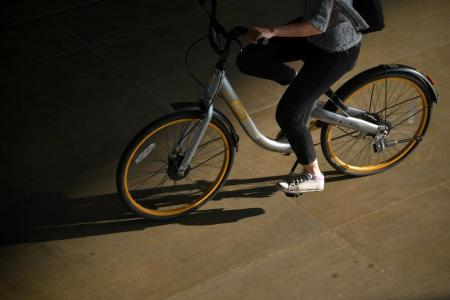 Bike-sharing a hit with S'poreans