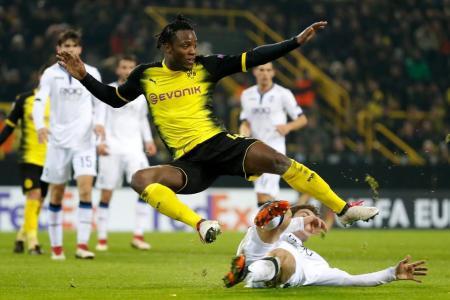 Batshuayi bags fifth goal in three games for Dortmund