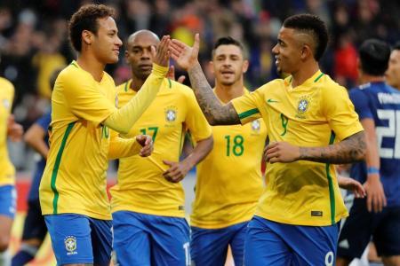 Brazil coach names World Cup starting XI