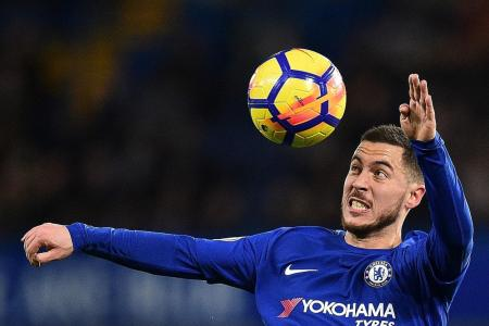 Barca test a chance for Chelsea's Hazard to shine on biggest stage