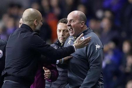 Man City's quadruple bid ends in shock FA Cup loss to Wigan