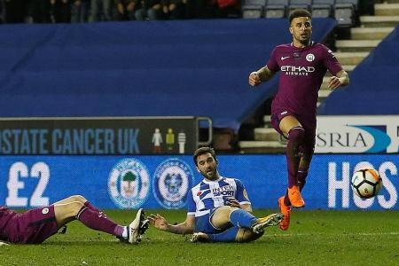 Wigan match-winner Grigg: I didn't think we can beat Man City