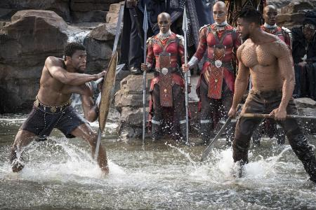 Nigerian cinema fans celebrate Black Panther release