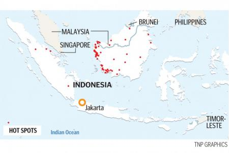 Indonesian provinces on disaster alert as more hot spots are detected
