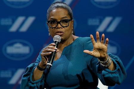 Oprah Winfrey says 'definitely not running' for US president