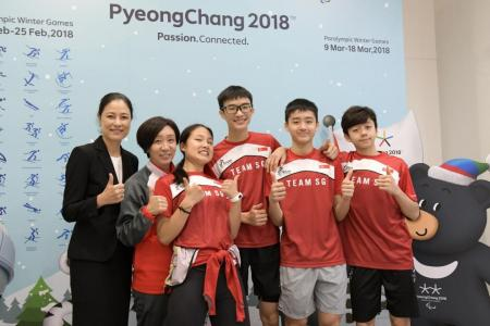 Singapore's first Winter Olympian Cheyenne Goh inspires youngsters