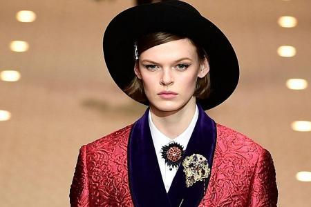 Dolce & Gabbana opens the gates of fashion heaven in Milan show