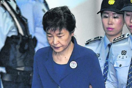 S. Korean prosecutors seek 30 years' jail for ousted president