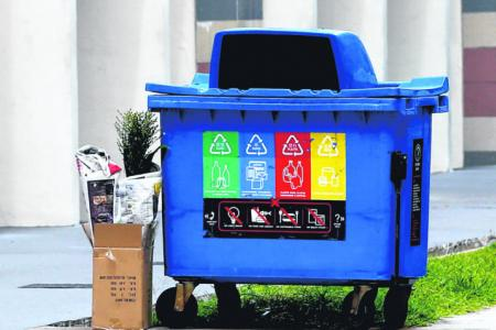 Just 2 per cent of domestic waste collected under recycling programme