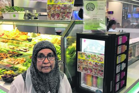 Business slow at Westgate stall after confusion over halal status