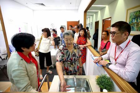 Centre for Seniors opens elderly-friendly mock-up studio