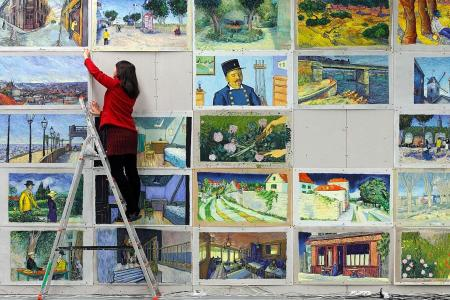 World's first hand-painted film, Loving Vincent, vies for an Oscar